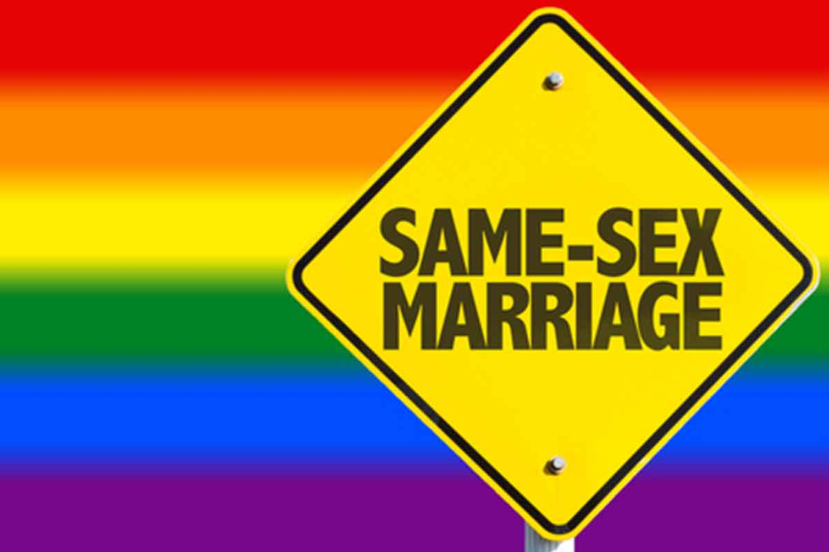 a description of same sex marriages which is refers to a marriage between two individuals of the sam The two nurses challenged a state law prohibiting adoption by same-sex couples and limiting second-parent adoption to married couples, while defining marriage as between opposite-sex individuals only.