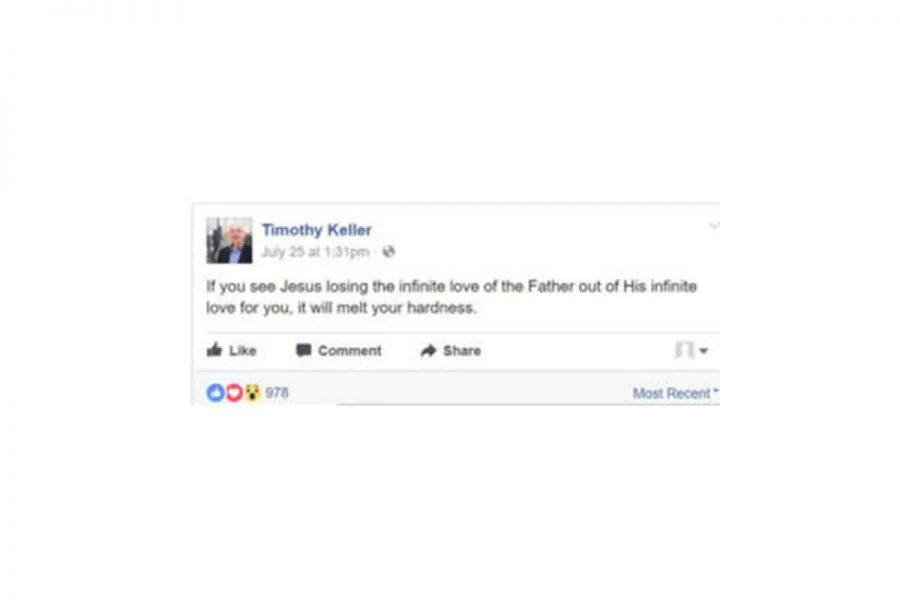 Keller, Jones, Turretin, and the Love of God on the Cross