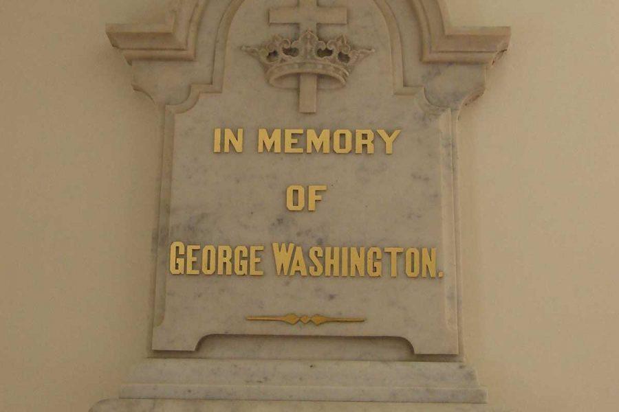 Removing George Washington