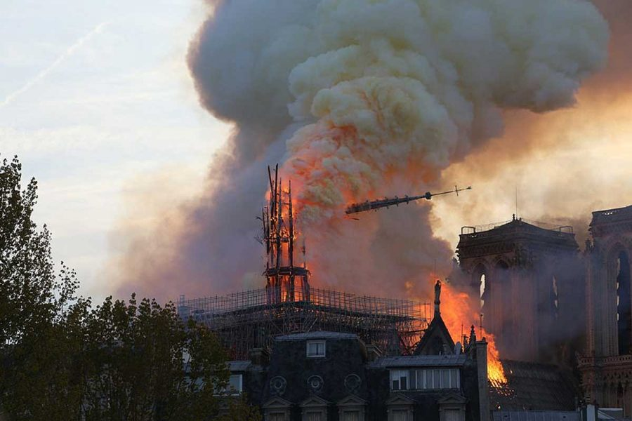 Fire Breaks Out At Historic Notre Dame' Cathedral In Paris