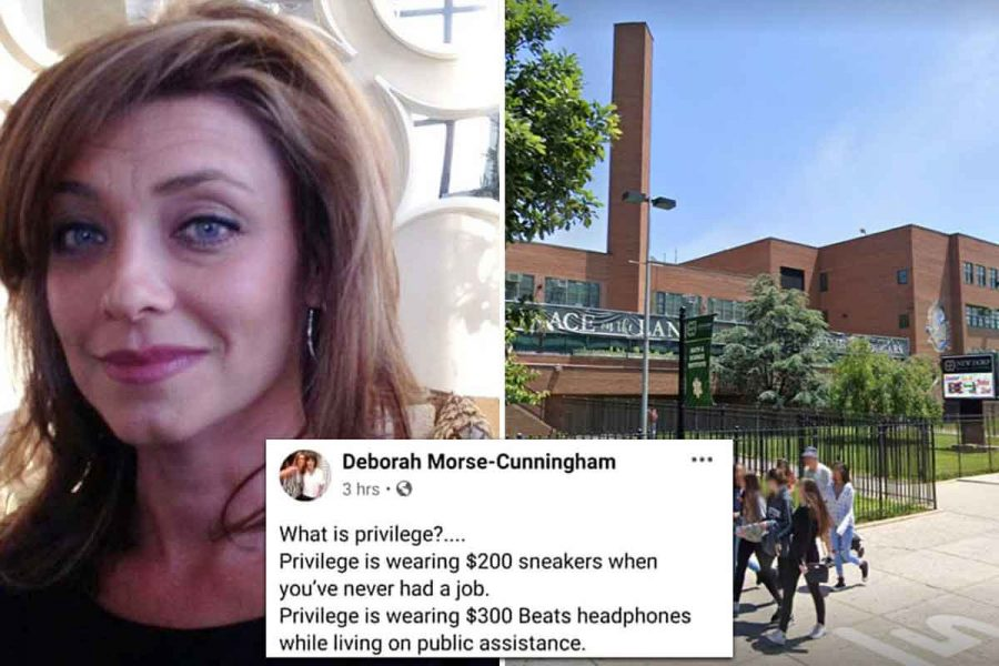 Assistant principal at Staten Island high school is investigated after 'racist' rant on Facebook